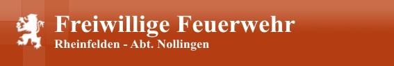 Feuerwehr Rheinfelden Abt. Nollingen